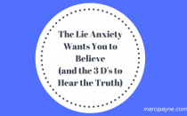 managing anxiety - counseling - marci payne