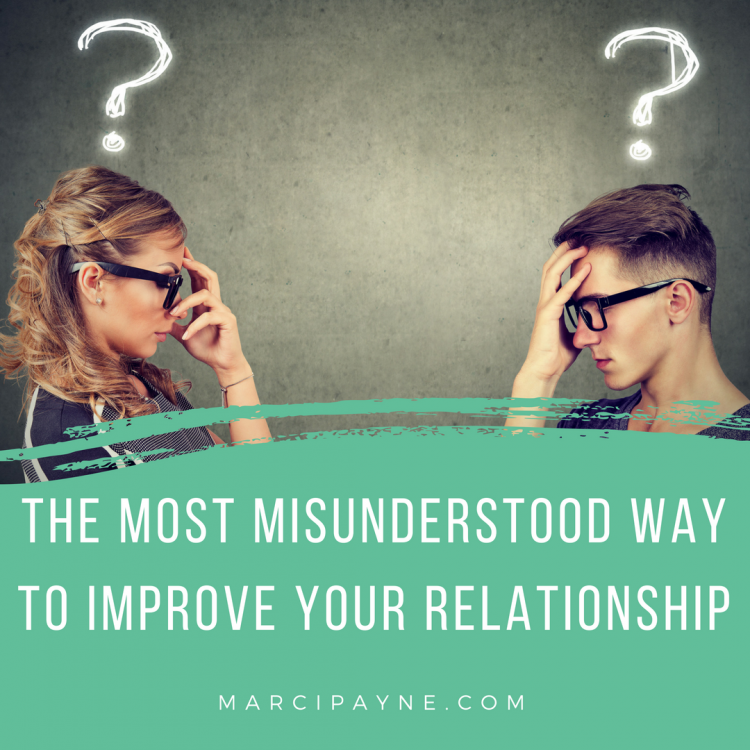 misunderstood way improve marriage relationship