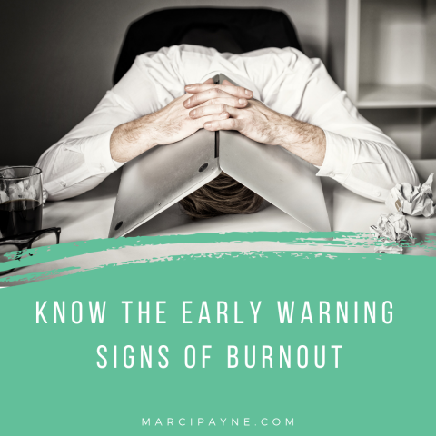 early warning signs burnout | counselor interview