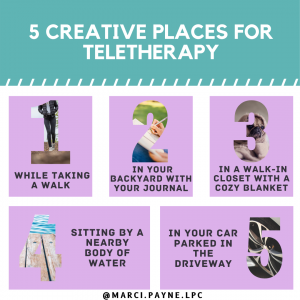 Creative tele-therapy tips